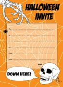 Halloween Party Invitations Pack of 20